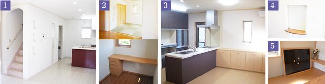 家事を助ける便利な設備と考え抜かれた設計イメージ