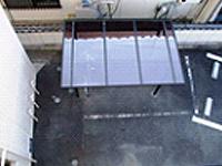 駐輪場の屋根は耐久性のあるものに